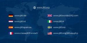 Classe J80 dans le monde