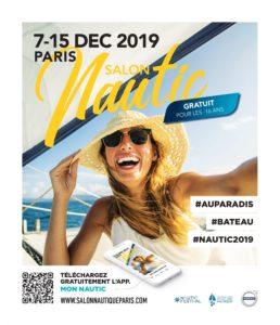 Affiche Nautic Paris 2019