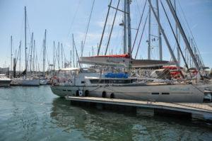 Ensemble complet sellerie nautique pour Garcia Yacht