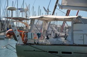 Grande croisière - Fermeture arrière - Garcia Yacht