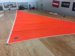 Voile d'occasion - TMT Orange 25m²