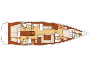Bateau d'occasion - Oceanis 58