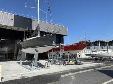 Axe Sail ouvre un chantier naval sur le port Chantereyne
