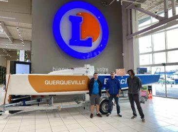 E.Leclerc Querqueville s'engage sur le circuit des régates locales