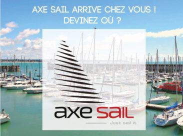 Axe Sail s'installe bientôt chez vous