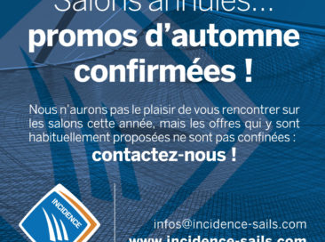 Promos d'automne Incidence Sails