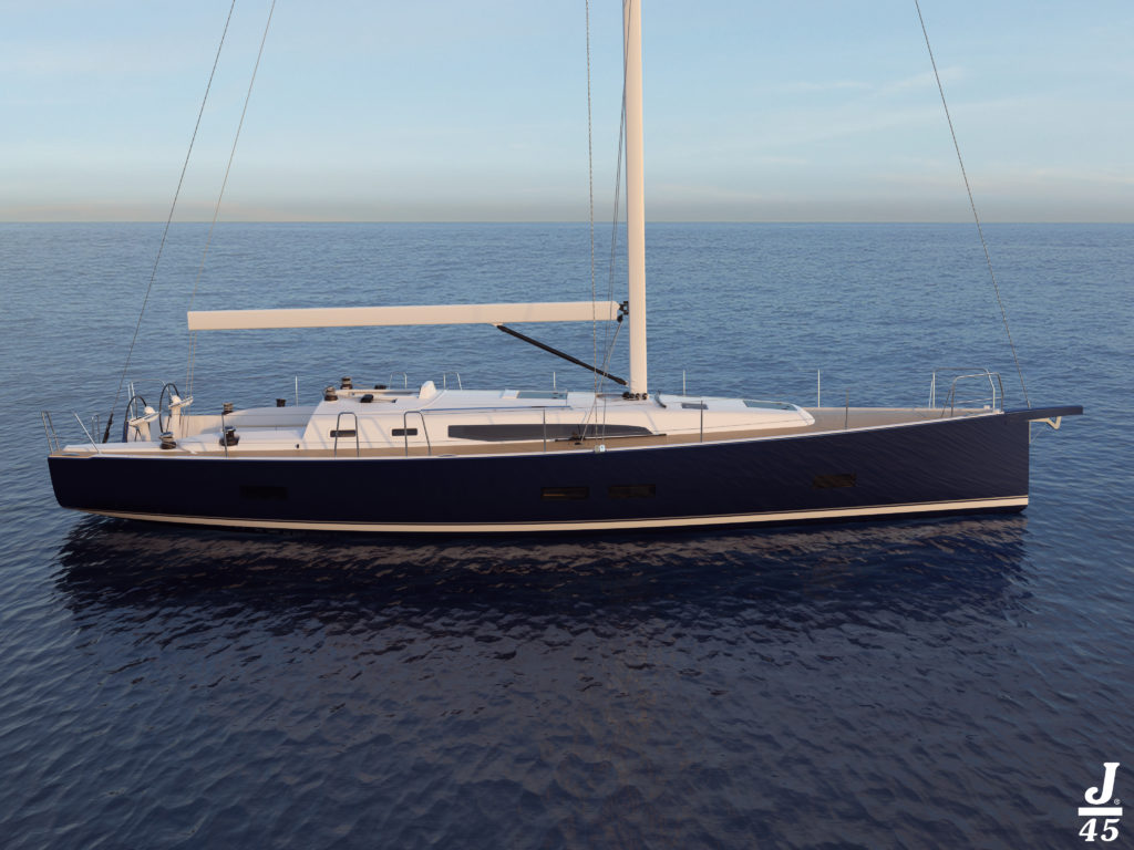 Le nouveau J/45, le navire amiral de JComposites