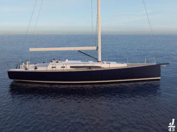 J/45 : Le nouveau navire amiral de JComposites
